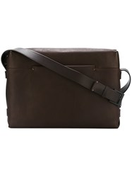 Troubadour Messenger Bag Brown