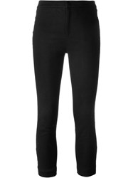 Isabel Marant 'Lindy' Cropped Trousers Black