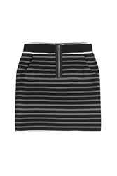 Rag And Bone Rag And Bone Regan Mini Skirt Stripes