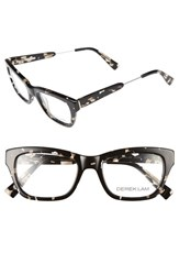 Derek Lam Women's 50Mm Optical Glasses Black Marble