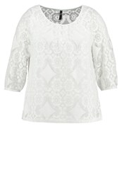 Evans Gypsy Blouse Ivory Off White