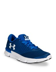 Under Armour Mesh Lace Up Sneakers Navy Blue