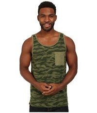 Tavik Bellmore Knit Tank Sage Men's Sleeveless Green