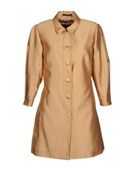 Antonio Croce Full Length Jackets Camel