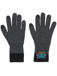 Kenzo Tiger Knitted Gloves 60