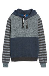 Scotch And Soda Melange Colorblock Hoodie Combo G