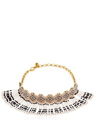 Shourouk Mambo Beaded Choker