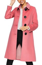 Boden Plus Size Conwy Wool Blend Coat Blush
