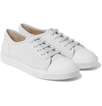 A.P.C. Cap Toe Suede Sneakers Off White