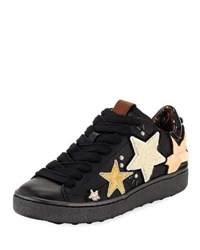 Coach C101 Sneaker With Cloud Patches Black