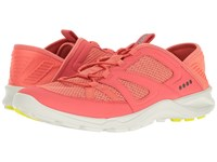 Ecco Terracruise Toggle Coral Blush Coral Women's Running Shoes Pink