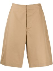 Oamc Concealed Front Shorts Neutrals