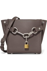 Alexander Wang Attica Chain Mini Leather Shoulder Bag Gray