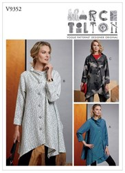 Vogue 'S Coat Sewing Pattern 9352