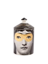 Fornasetti Golden Burlesque Scented Candle Black Gold