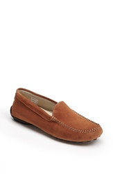 French Sole 'Stella' Loafer Cognac Suede