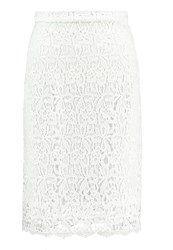 Anna Field Pencil Skirt White
