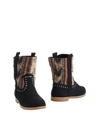 Coolway Ankle Boots Black