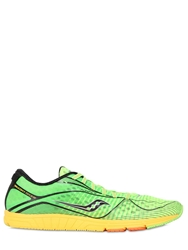 Saucony Type A Nylon Mesh Running Sneakers Neon Green