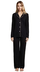 Bop Basics X Cosabella Long Pj Set Black Mandorla