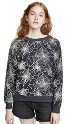 Wildfox Couture Black Widow Sweatshirt Night