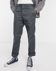 Dickies 874 Straight Fit Work Pant In Charcoal Grey