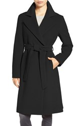 Cinzia Rocca Icons Women's Wool Blend Long Wrap Coat