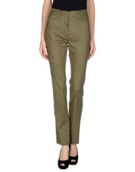 Gattinoni Jeans Casual Pants Military Green