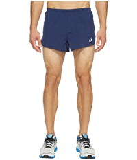 Asics Split Shorts 3 Indigo Blue Men's Shorts