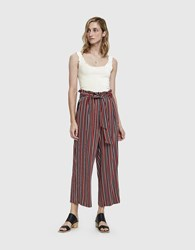 Just Female Fanny Trousers Red Stripe