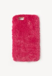 Missguided Pink Faux Fur Iphone 6 Case