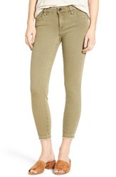 Swat Fame Women's Kut From The Cloth Connie Skinny Jeans Olive