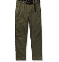 Nikelab Cotton Blend Twill Trousers Army Green