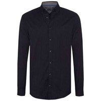 Tommy Hilfiger Men's Pinstripe Shirt Blue