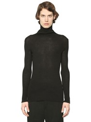 Ann Demeulemeester Alpaca Blend Turtleneck Sweater