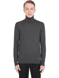Dsquared Wool Knit Turtleneck Sweater