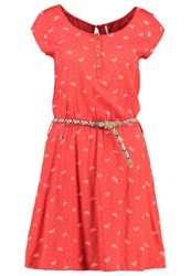 Ragwear Zephie Summer Dress Coral Red