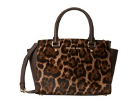 Michael Michael Kors Selma Medium Tz Satchel Leopard Satchel Handbags Animal Print