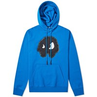 Mcq By Alexander Mcqueen Monster Popover Hoody Blue