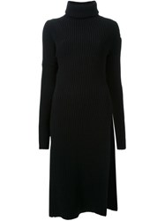 Scanlan Theodore Ribbed Knit Tunic Black