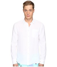Vilebrequin Linen Long Sleeve Button Up White