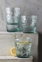 Anthropologie Imprint Water Glass Set Clear