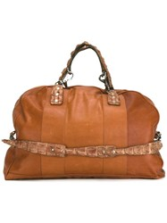 Ivo Scunzani 'Boston' Shoulder Bag Brown