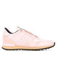 Valentino Garavani 'Rockrunner' Sneakers Pink And Purple