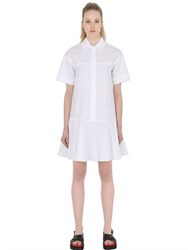 I'm Isola Marras Short Sleeve Cotton Poplin Shirt Dress