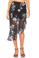 Keepsake Cosmic Girl Skirt Black