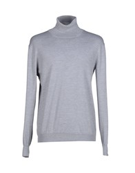 Gran Sasso Turtlenecks Grey