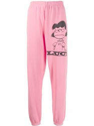 Marc Jacobs Lucy Track Pants Pink