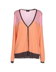 Taifun Knitwear Cardigans Women Orange