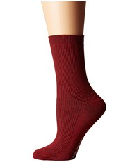 Richer Poorer Nightingale Red Women's Crew Cut Socks Shoes